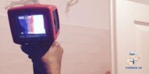 אבי אינסטלציה אינסטלטור איתור נזילות מים במצלמה תרמית